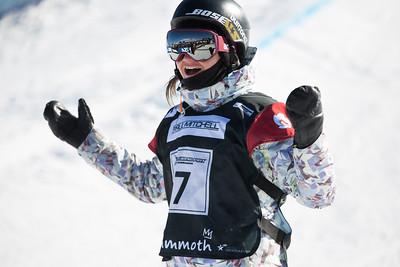 Kelly Clarkk Snowboard halfpipe finals 2016 U.S. Snowboarding Grand Prix at Mammoth Photo: U.S. Snowboarding