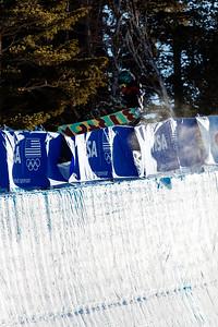 Hannah Teter Snowboard halfpipe finals 2016 U.S. Snowboarding Grand Prix at Mammoth Photo: U.S. Snowboarding