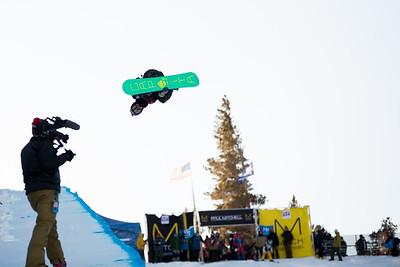 Snowboarding halfpipe finals Snowboard halfpipe finals 2016 U.S. Snowboarding Grand Prix at Mammoth Photo: U.S. Snowboarding