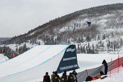 Julia Marino 2016 Team USA Winter Champions Series - Copper, CO Big Air snowboarding finals Photo: U.S. Snowboarding