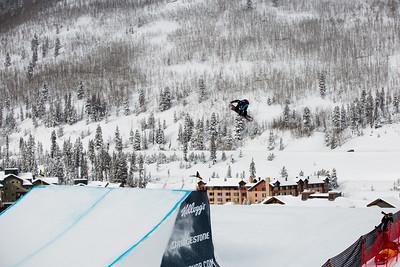 Klaudia Medlova 2016 Team USA Winter Champions Series - Copper, CO Big Air snowboarding finals Photo: U.S. Snowboarding