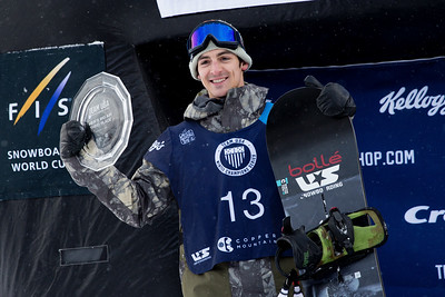 Ryan Stassel 2016 Team USA Winter Champions Series - Copper, CO Big Air snowboarding finals Photo: U.S. Snowboarding