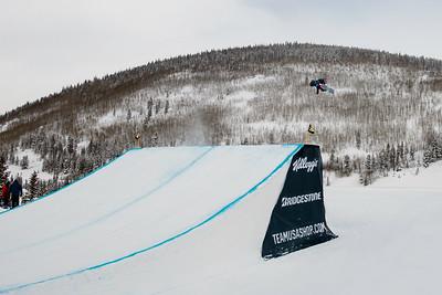 Jamie Anderson 2016 Team USA Winter Champions Series - Copper, CO Big Air snowboarding finals Photo: U.S. Snowboarding