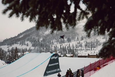 Kalle Jarvilehto 2016 Team USA Winter Champions Series - Copper, CO Big Air snowboarding finals Photo: U.S. Snowboarding