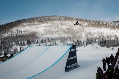 Sebastien Toutant 2016 Team USA Winter Champions Series - Copper, CO Big Air snowboarding finals Photo: U.S. Snowboarding