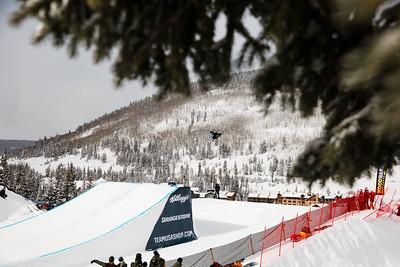 Enni Rukajarvi 2016 Team USA Winter Champions Series - Copper, CO Big Air snowboarding finals Photo: U.S. Snowboarding
