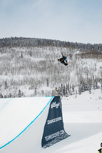 Markus Olimstad 2016 Team USA Winter Champions Series - Copper, CO Big Air snowboarding finals Photo: U.S. Snowboarding