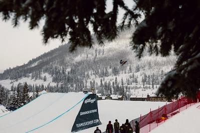 Chris Corning 2016 Team USA Winter Champions Series - Copper, CO Big Air snowboarding finals Photo: U.S. Snowboarding