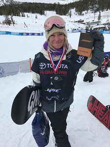 Jamie Anderson Slopestyle snowboarding finals 2017 Toyota U.S. Grand Prix - Snowboarding at Mammoth Mountain, CA Photo: U.S. Snowboarding
