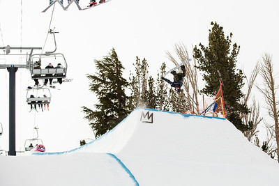 Red Gerard Slopestyle snowboarding finals 2017 Toyota U.S. Grand Prix - Snowboarding at Mammoth Mountain, CA Photo: U.S. Snowboarding