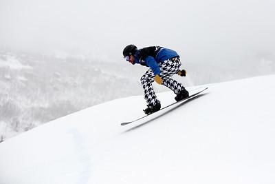 Nick Baumgartner Qualifiers 2017 Toyota U.S. Grand Prix - Snowboardcross at Solitude Resort Photo: U.S. Snowboarding