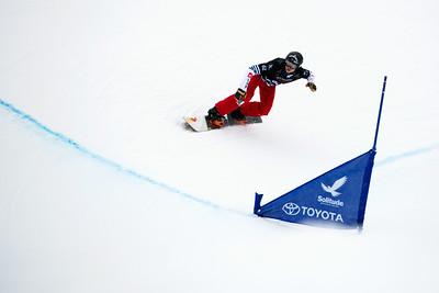 Merlin Surget Qualifiers 2017 Toyota U.S. Grand Prix - Snowboardcross at Solitude Resort Photo: U.S. Snowboarding
