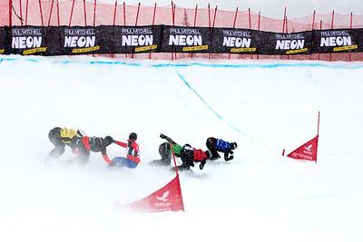 Hannah Kearney 2017 Toyota U.S. Grand Prix - Snowboardcross at Solitude Resort Photo: U.S. Snowboarding