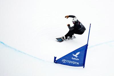 Mike Lacroix Qualifiers 2017 Toyota U.S. Grand Prix - Snowboardcross at Solitude Resort Photo: U.S. Snowboarding