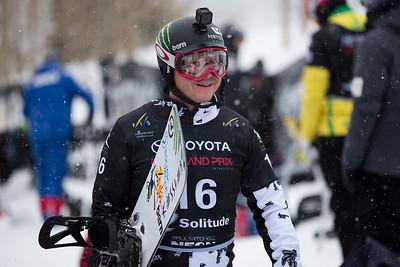Nate Holland Qualifiers 2017 Toyota U.S. Grand Prix - Snowboardcross at Solitude Resort Photo: U.S. Snowboarding