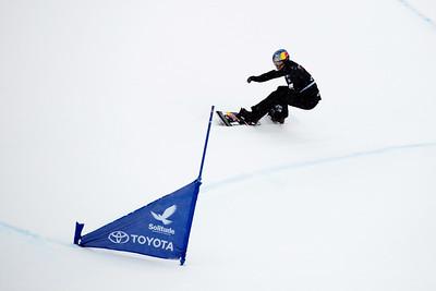 Alex Pullin Qualifiers 2017 Toyota U.S. Grand Prix - Snowboardcross at Solitude Resort Photo: U.S. Snowboarding