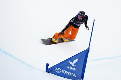Laro Herrero Qualifiers 2017 Toyota U.S. Grand Prix - Snowboardcross at Solitude Resort Photo: U.S. Snowboarding