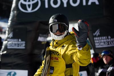Yuri Okubo Snowboard Big Air finals 2017 Toyota U.S. Snowboarding Grand Prix at Copper, CO Photo: Sarah Brunson/U.S. Ski & Snowboard