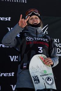 Julia Marino Snowboard Big Air finals 2017 Toyota U.S. Snowboarding Grand Prix at Copper, CO Photo: Sarah Brunson/U.S. Ski & Snowboard