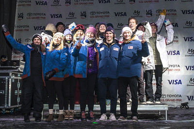 U.S. Ski & Snowboard Team nomination ceremony presented by Visa Photo © Peter Morning