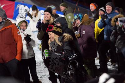 Chloe Kim Snowboard Halfpipe finals 2018 Toyota U.S. Freeskiing Grand Prix at Mammoth Mountain, CA Photo: Sarah Brunson/U.S. Ski & Snowboard