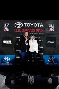Snowboard Halfpipe finals 2018 Toyota U.S. Freeskiing Grand Prix at Mammoth Mountain, CA Photo: Sarah Brunson/U.S. Ski & Snowboard