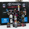 Julia Marino, Jamie Anderson and Hailey Langland<br /> Snowboard Slopestyle finals<br /> 2018 Toyota U.S. Snowboarding Grand Prix at Mammoth Mountain, CA<br /> Photo: Sarah Brunson/U.S. Ski & Snowboard