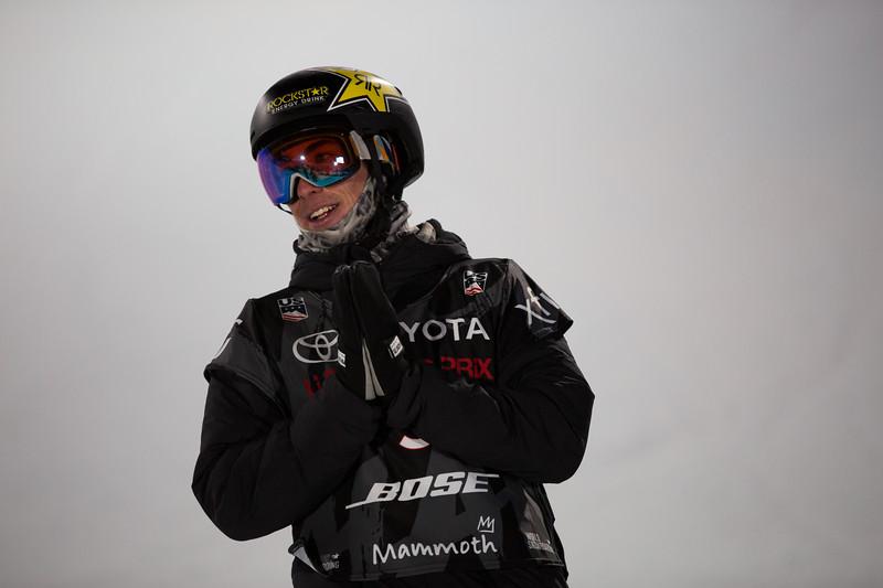 Snowboard Halfpipe finals<br /> 2018 Toyota U.S. Snowboarding Grand Prix at Mammoth Mountain, CA<br /> Photo: Sarah Brunson/U.S. Ski & Snowboard