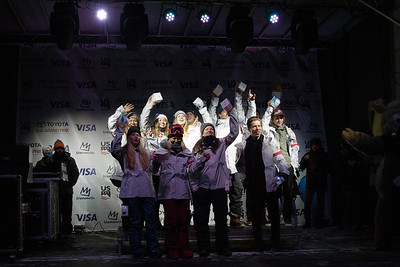 U.S. Ski & Snowboard Team nomination ceremony presented by Visa Photo: U.S. Ski & Snowboard