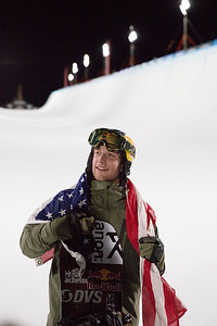 Ben Ferguson Snowboard Halfpipe finals 2018 Toyota U.S. Freeskiing Grand Prix at Mammoth Mountain, CA Photo: Sarah Brunson/U.S. Ski & Snowboard