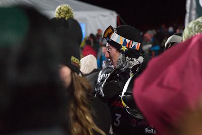 Chase Josey Snowboard Halfpipe finals 2018 Toyota U.S. Freeskiing Grand Prix at Mammoth Mountain, CA Photo: Sarah Brunson/U.S. Ski & Snowboard