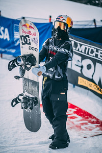 Toby Miller Snowboard halfpipe finals 2018 Toyota U.S. Snowboarding Grand Prix at Aspen/Snowmass, CO Photo: Ryan Wachendorfer // Editorial use only. For licensing please email: ryan.wachendorfer.vssa@gmail.com