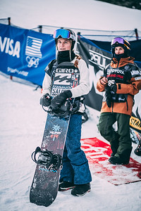 Maddie Mastro Snowboard halfpipe finals 2018 Toyota U.S. Snowboarding Grand Prix at Aspen/Snowmass, CO Photo: Ryan Wachendorfer // Editorial use only. For licensing please email: ryan.wachendorfer.vssa@gmail.com