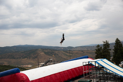 Hagen Kearney U.S. Ski & Snowboard Project Jump at the Utah Olympic Park Photo © U.S. Ski & Snowboard
