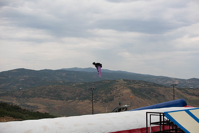 Jesskia Jenson U.S. Ski & Snowboard Project Jump at the Utah Olympic Park Photo © U.S. Ski & Snowboard
