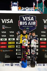 Snowboard Finals 2019 Visa Big Air presented by Land Rover at SunTrust Park, Atlanta Photo: U.S. Ski & Snowboard
