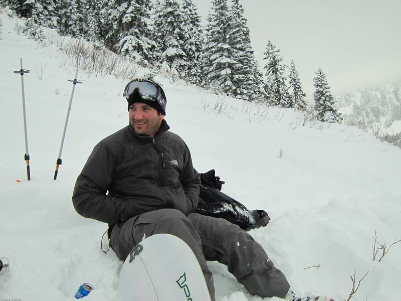 Our annual early season trip to hike, ride, and grill at Stevens Pass