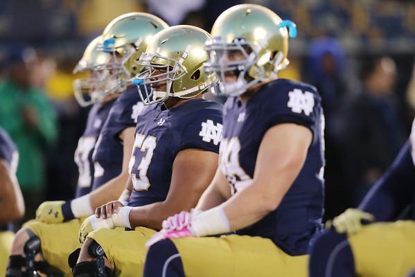 Notre Dame 41 vs USC 31<br /> NCAA Football