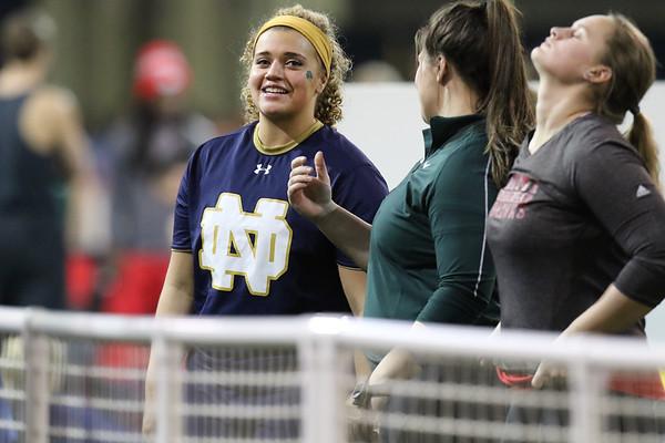 Meyo Invitational<br /> Notre Dame host the 29th annual Meyo Invitational (Loftus Sports Center)<br /> Feb. 6, 2016