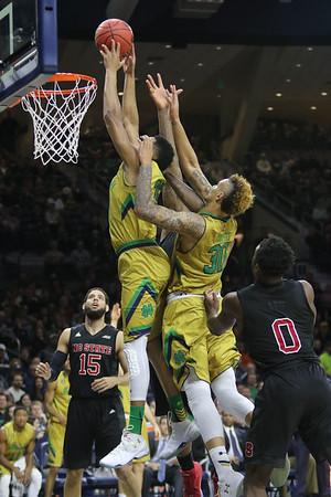Notre Dame men's basketball vs<br /> North Carolina State<br /> Mar. 5, 2016<br /> Notre Dame, Ind. (Purcell Pavilion)