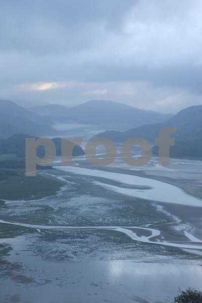 Mawddach Estuary in Snowdonia Wales