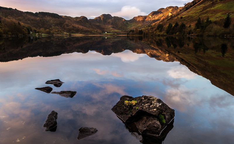 Sunrise at Llyn Crafnant