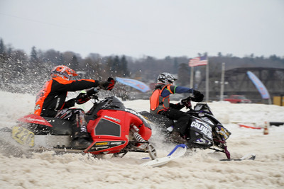 Eastcoast Snow Cross-Fonda Speedway-2/2/14-Bill McGaffin