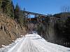 1923 Back country railroad bridge