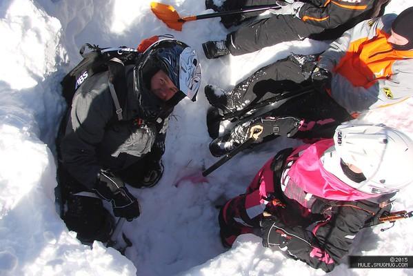 20150201 Snowies TBA Avalanche Class 2