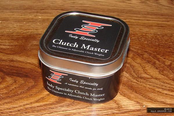 IndyDan Clutch Master weights