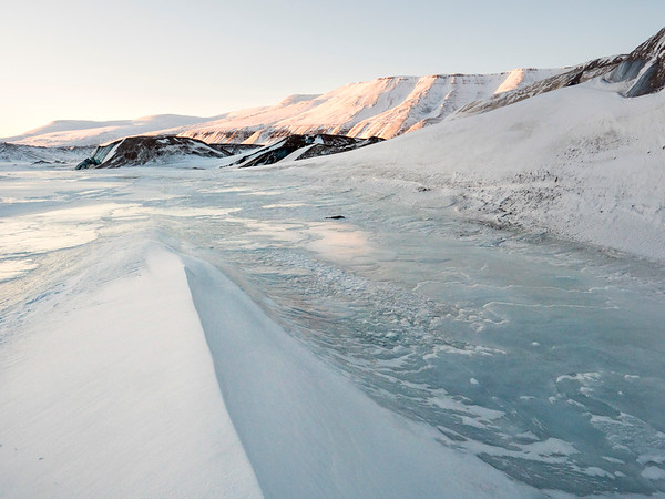 Snowmobiling the Arctic