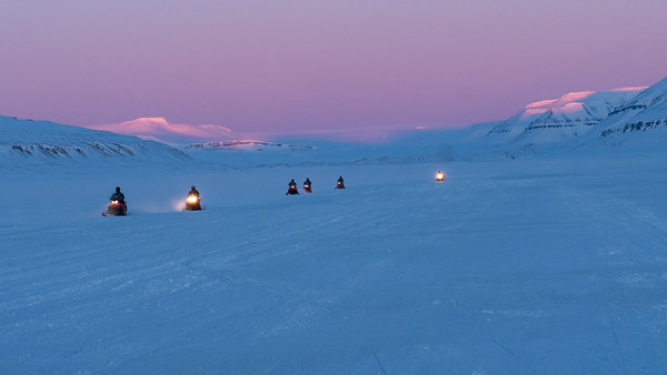 Snowmobile or snowmobiling is the easiest way to travel