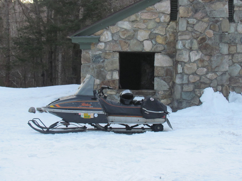 Douglas Gray rides this 1976 Pantera and enjoys himself. He credits the grooming efforts of the Sno-Birds for his enjoyment!