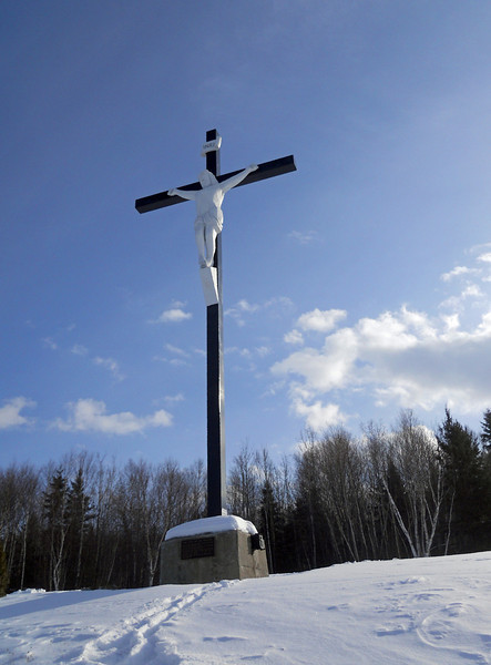 Cross on the Mountain - Madawaska, Maine